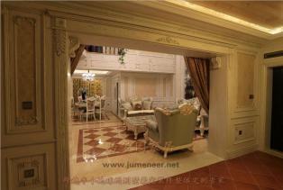 法式风格别墅装修设计,细腻别出心裁的纹理,点缀着心中那股自然的旋律!
