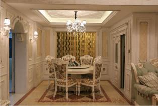 法式风格家居生活,体现法式浪漫之地,法国装饰艺术风格最集中体现在家具的设计方面,细节处理上注重线条,制作工艺精细考究。
