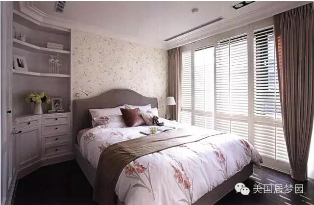 简约温馨卧室设计装饰效果图