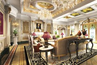 巴洛克风格的别出心裁体现在用智慧去设计,精湛细腻的布局,点缀了整个空间富有的活力氛围。